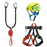 Climbing Technology Evolution Eclipse, Set Ferrata Unisex Adulto, Multicolore, Taglia...