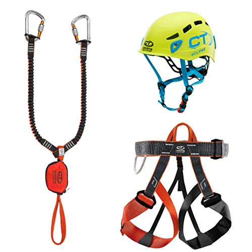 Climbing Technology Evolution Eclipse - Juego de Ferrata Unisex para Adulto, Multicolor, Talla única