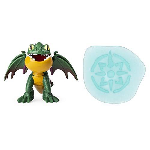 Dreamworks Dragons 6054556 Legends Evolved, Hakenzahn Sammlerfigur, 7,5cm große Minidrachen-Figur mit Zubehör, Multicolour