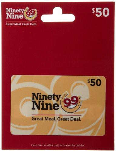 Ninety Nine Restaurants Gift Card $50
