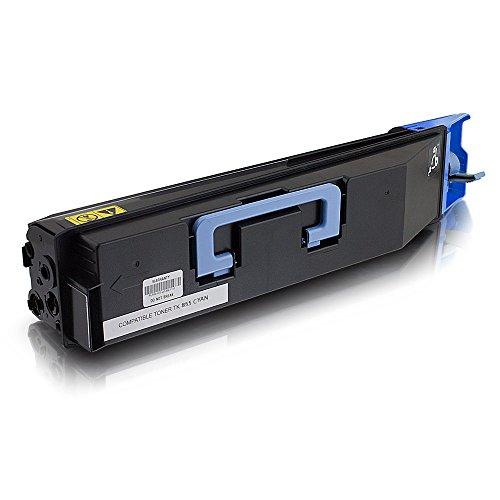 ms-point® 1 kompatibler Toner für Kyocera TASKalfa 400ci 500ci 552ci Copystar CS400CI CS500CI CS552CI TK-855C 1T02H7CEU0 Cyan