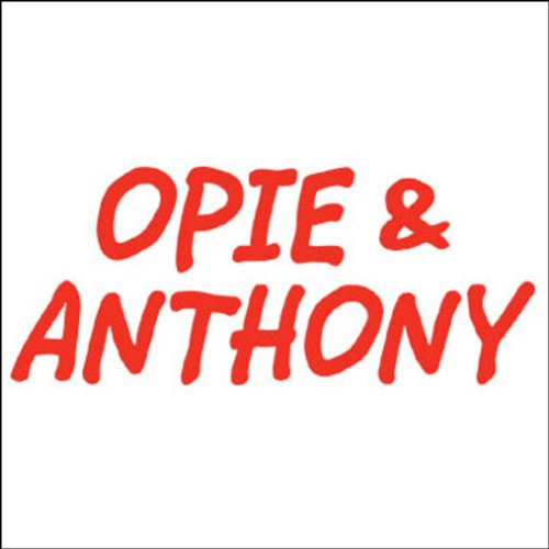 Opie & Anthony, Tom Jones, December 1, 2008 audiobook cover art