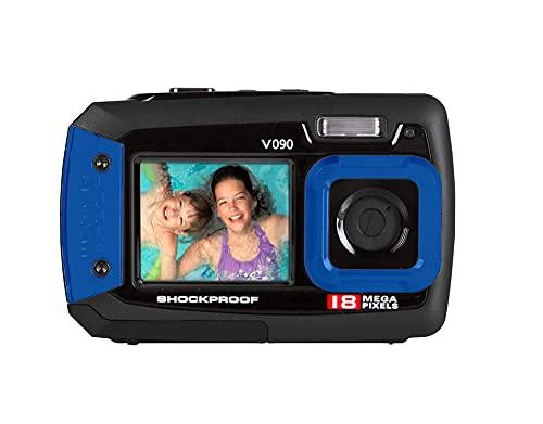 "Vivitar v090-blu cámara Digital Wth 2,7""+ 1,8TFT 18Mpx, Color Negro"