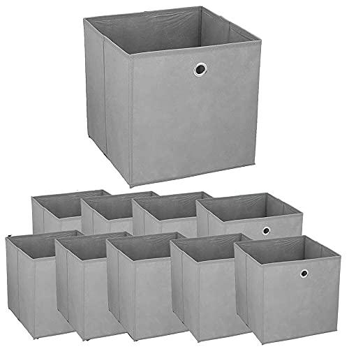 Murago 10er Set Faltbox ca. 30x30x30 cm...