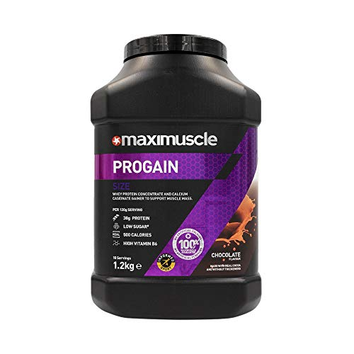 MAXIMUSCLE Progain Protein Powder Chocolate Flavour,1.2 kg