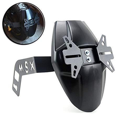 Rueda De La Motocicleta Guardabarros Guardabarros Hugger Negro Cubierta Posterior para El Tanque Pequeño Monstruo MSX125 Pequeño Mono