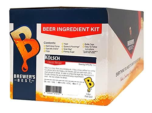 Brewer's Best - 1015 - Home Brew Beer Ingredient Kit (5 gallon), (Kölsch) Silver