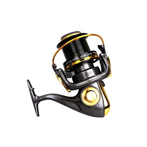 HiXB Carrete Giratorio De Pesca Carrete Giratorio 12 + 1 BB 8000 9000 10000 11000 FáCil De Plegar FáCil Y Resistente Asequible Fundamentos De Viaje,11000