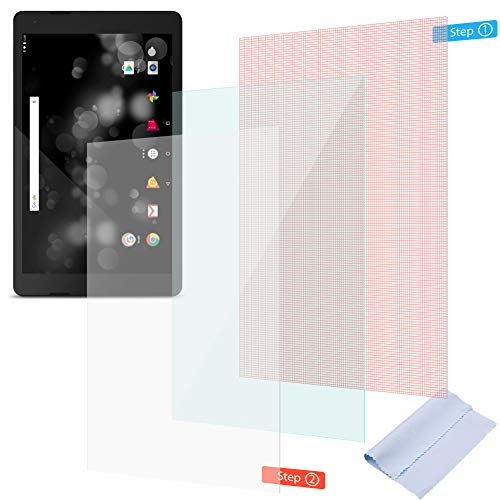 UC-Express 2X Schutzfolie für TrekStor Primetab P10 Bildschirmschutzfolie klar Universal Folie