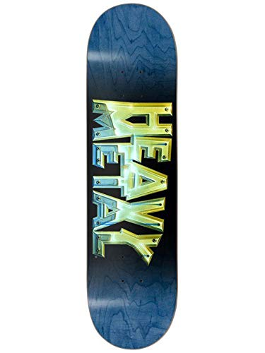 Darkstar Blau Heavy Metal Chrome Hyb - 8 Inch Skateboard-Deck (One Size, Blau)