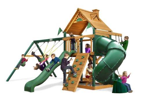 Hot Sale Gorilla Playsets Blue Ridge Mountaineer Playground System