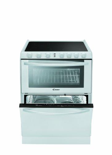Candy TRIO 9503 W - Equipos combinados para la cocina (Eléctrico, 1600W, A, Induction, 1800W, 2300W) Color blanco