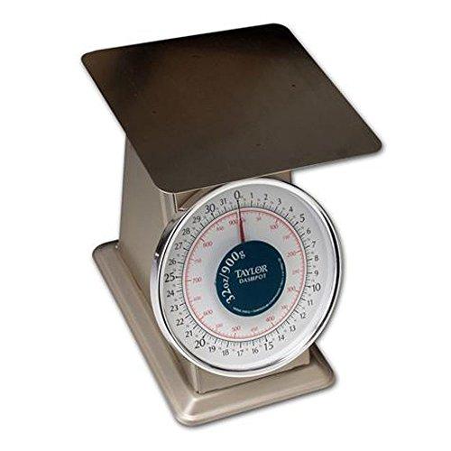 Taylor THD32D Heavy-Duty 32 Ounce x 1/8 Ounce Mechanical Scale