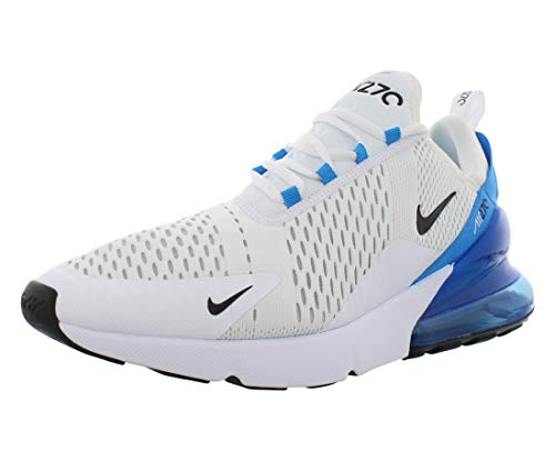Nike Herren Air Max 270 Turnschuh, White Black Photo Blue Pure Platinum, 45 EU