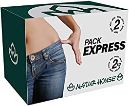 Naturhouse Pack Express - Complete 2 Days Weight Loss Plan - Comes with 4 Meals, 2 Weight Loss Drinks, Fiber, Supplement and More