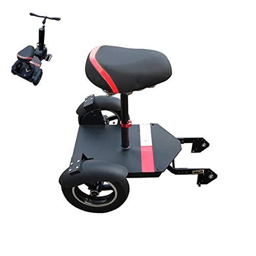A&DW Scooter Eléctrico 2 En 1, Patinete Eléctrico para Adultos, Monociclo De...