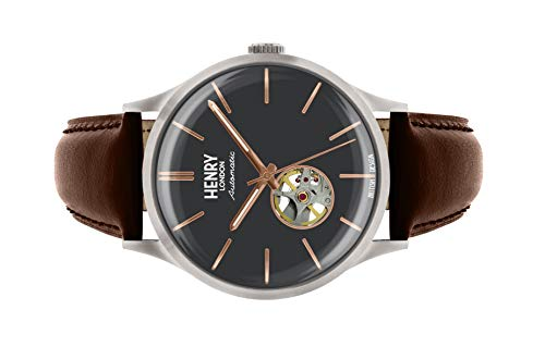 Henry London Gents Ss Heritage Automatic WatchHL42-AS-0281