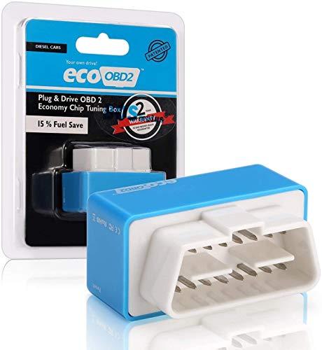 Shoppy Lab Nitro Eco Módulo Adicional Ahorro de Combustible Auto Diesel Obd2 Chip Tuning Universal ECU