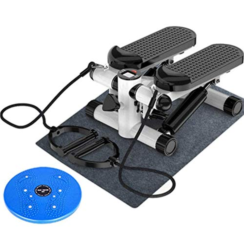 Stepper Oefening Machine Mini Stepper Met LCD-scherm En Draai Disc Kalf Exercise Machine For Fitnesstoestellen