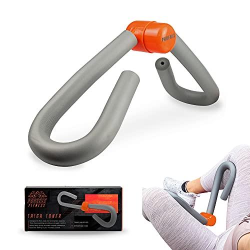 Phoenix Fitness RY921 Oberschenkel Toner Muskel Toning Beintrainer - Bein Blaster Toner zum Trimmen von Armen, Bauchmuskeln, Po und Beinen, Grau
