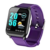 Bluetooth Smartwatch,KOBWA Touch Screen Fitness Tracker,Camera Call Message Notification,Activity Tracker with Pedometer,Heart Rate