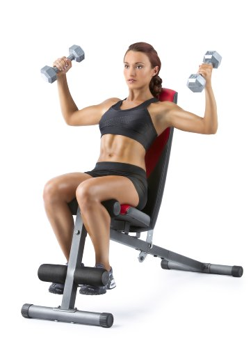 Product Image 5: Weider Incline Weight Bench black, 40L x 18.25W x 53.5H inches