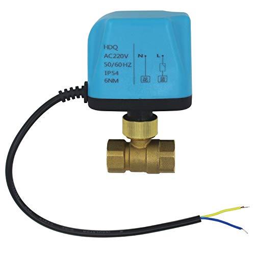 vanne a bille motorisee 1//2 3//4 1 1-1//4 1-1//2 2 pouce 100~230V DN50-2 pouce 2 fils vanne 2 voies motoris/ée manuel electrovanne normalement ferm/ée 10N.M