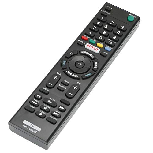 New RMT-TX200U Replace Remote Control for Sony Bravia TV Bravia 55X700D 49X700D XBR-55X700D XBR-49X700D XBR-65X750D XBR-65Z9D XBR-75Z9D XBR-49X750D