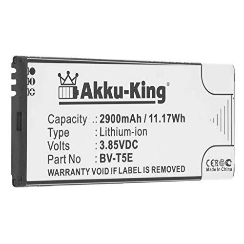 Akku-King Akku kompatibel mit Microsoft/Nokia BV-T5E - Li-Ion 3200mAh - für Lumia 940, 940 XL, 950, 950 Dual SIM, RM-110, RM-1104, RM-1106