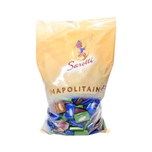 Sarotti Napolitains Schweizer Schokoladen-Täfelchen 1 KG