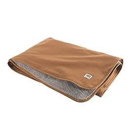 Carhartt Pet Blanket | 59.5″x45.5″ | Carhartt Brown | Reversible Pet Blanket With Water Repellent Coating
