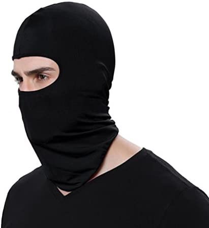 Hattfart Candy Color Ultra Thin Ski Face Mask Great Under A Bike Warm Balaclava Hood B product image