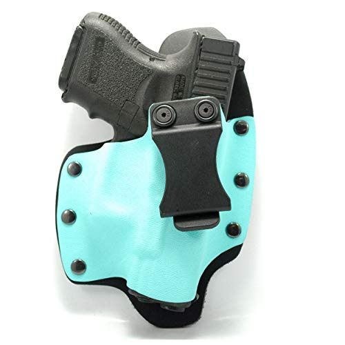 Infused Kydex USA Light Blue IWB Hybrid Concealed Carry Holster (Right-Hand, for Ruger LCP 2)