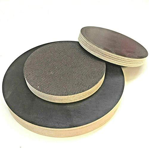 Runde Holzscheibe Holz Rund Birke Siebdruckplatte Scheibe Multiplex Tischplatte Rundholz (Stärke/Dicke 27mm, Ø 600mm)