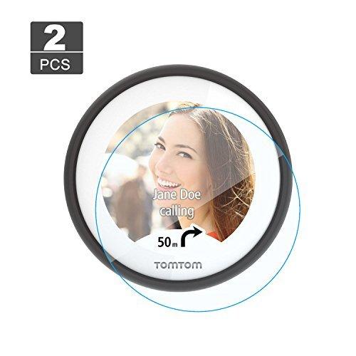 [2 piezas] LFOTPP Protector de Pantalla para TomTom VIO Pelicula Protectora de Cristal Templado - 9H Anti-arañazos Transparente