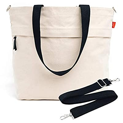 Caldo Canvas Market Tote - Large Multipurpose T...