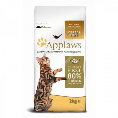 Applaws Katzentrockenfutter mit Hühnchen 2 kg, Trockenfutter, Katzenfutter