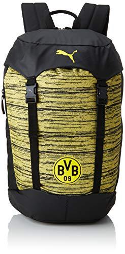 PUMA BVB 365 Backpack Rucksack, Black-Cyber Yellow, UA