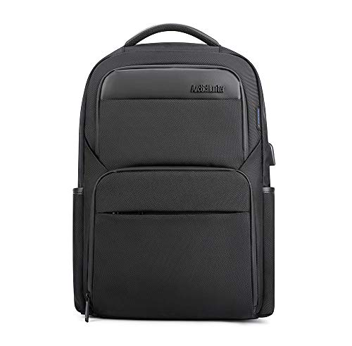 Arctic Hunter Throu Unisex Adult Laptop Backpack - Black