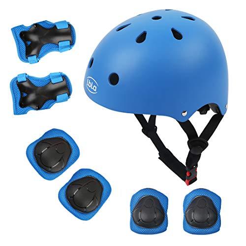 LBLA Helmet and Pads for Kids 3-8 Years Toddler Helmet,Kids Bike Skateboard Helmet