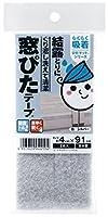 ワタナベ工業 結露とり 窓ぴたテープ シルバー 日本製 KPM-202