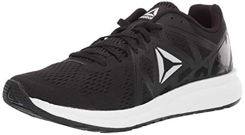 Reebok Women's Forever Floatride Energy, Black/White/White, 10.5 M US