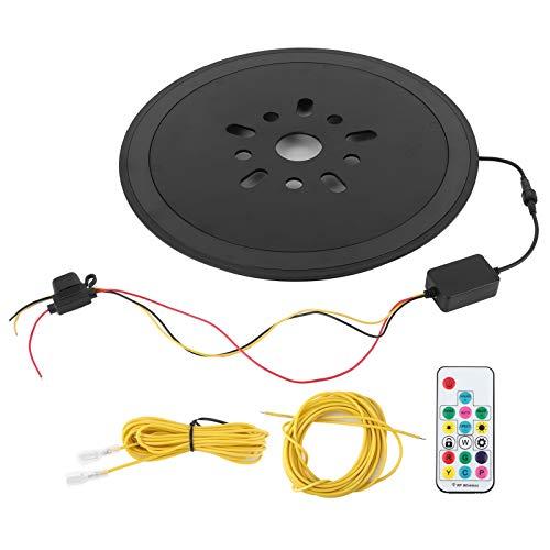 Qqmora Luz de Freno de Rueda Luz de Freno de neumático de Repuesto Lavable para Quad para conducción Nocturna para Mejorar la Apariencia para Viajes de Larga Distancia