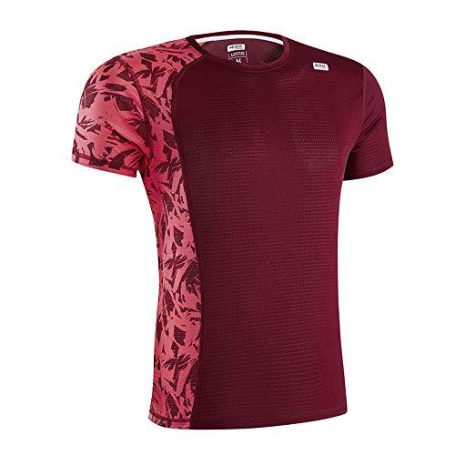 42K Running - Camiseta técnica Lotus Wine Hombre M