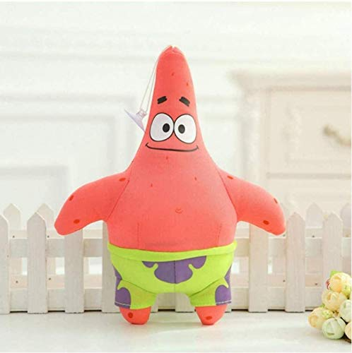 siyat Plush Toys Spongebob Patrick Star Doll for Children Soft Anime Stuffed Squidward Tentacles Cartoon Doll 20 cm Jikasifa-US