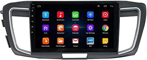 Navegación GPS de Android para Honda Accord Generation, 9.0 Pulgadas Coche Radio Estéreo Player Sat Nav Bluetooth Volante Control,4Core WiFi 1+16G