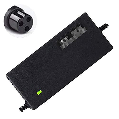 SUIBIAN Cargador Scooter eléctrico, Adaptador de Corriente 58.8V, la protección del Voltaje, Apagado automático, 2 3 4 5 A Opcional, Personalizable Plug, Adecuado para Cargar la batería de Litio,2A