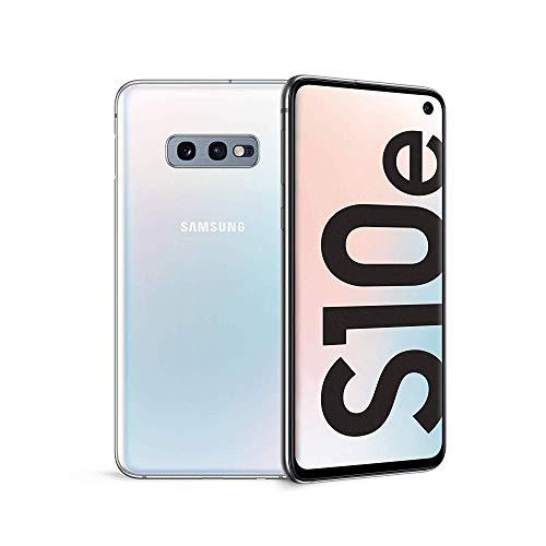 Samsung Galaxy S10e Smartphone, Display 5.8  Dynamic AMOLED, 128 GB Espandibili, RAM 6 GB, Batteria 3100 mAh, 4G, Android 9 Pie, Bianco Blu