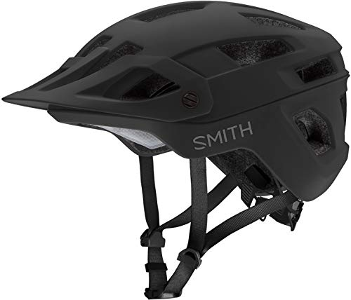 Smith Engage MIPS Mountain Bike Helmet (Matte Black, Medium)