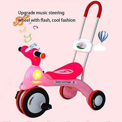 Silla de paseo para bebés triciclo for niños de bicicletas 2-6 años bicicletas for niños 1-3 años cochecito de bebé niña de bicicletas Carro de bebé Cochecitos